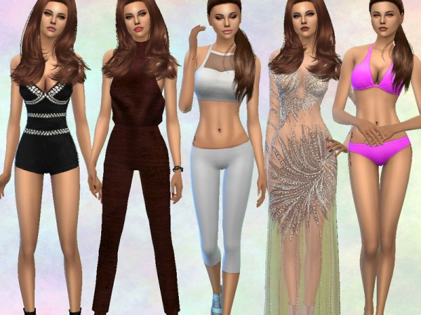 The Sims Resource: Selena Gomez by divaka45