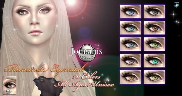 Jom Sims Creations: Bluminda eyes