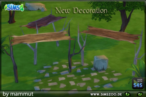 Blackys Sims 4 Zoo: Fur roof