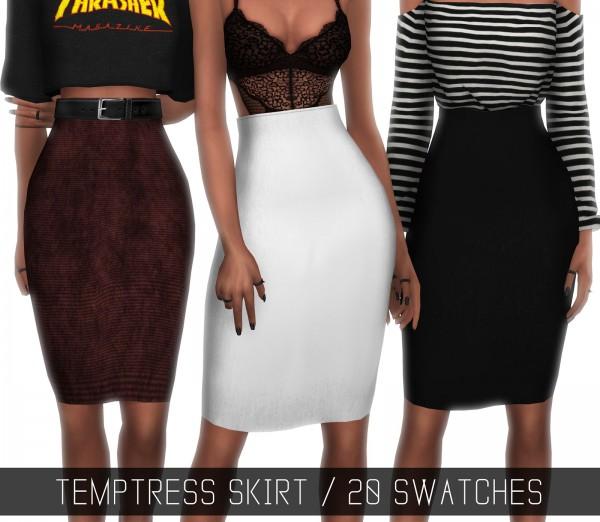 Simpliciaty: Temptress skirt