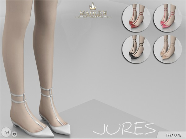 The Sims Resource: Madlen Jures Shoes by MJ95
