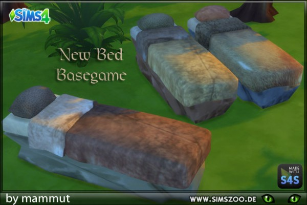 Blackys Sims 4 Zoo: Stone lying by mammut