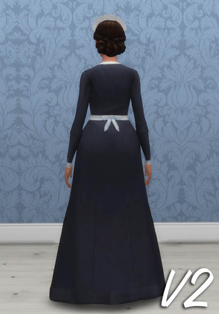 History Lover S Sims Blog Maids Uniforms Sims 4 Downloads