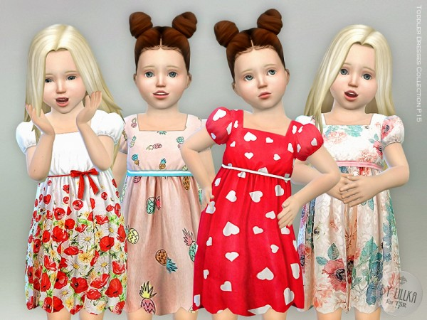 The Sims Resource: Toddler Dresses Collection P15 by lillka