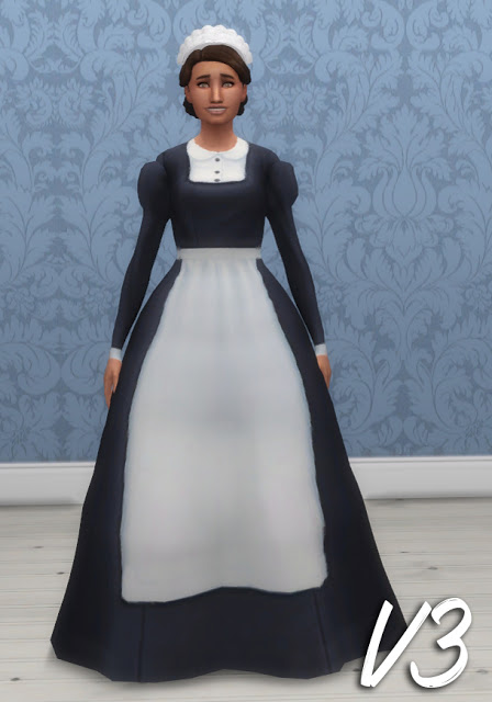 History Lovers Sims Blog: Maids Uniforms
