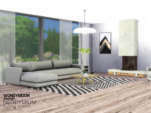 The Sims Resource: Neodymium Livingroom by wondymoon