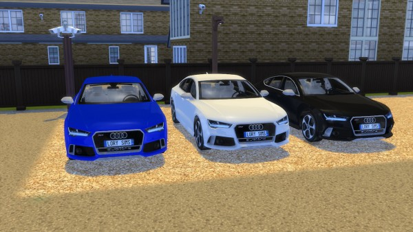 Lory Sims: Audi RS7