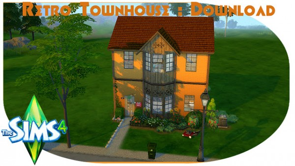 Pandashtproductions: Retro Townhouse