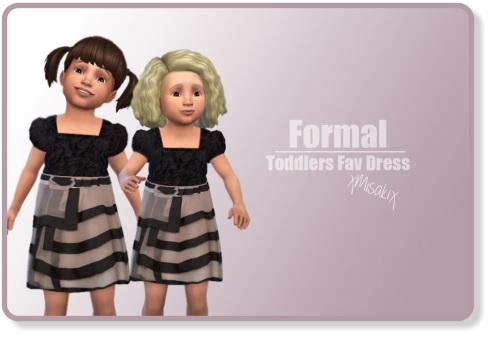 Xmisakix sims: Fav Dresses toddlers