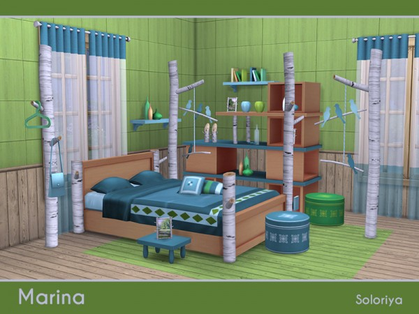 The Sims Resource: Marina bedroom by Soloriya