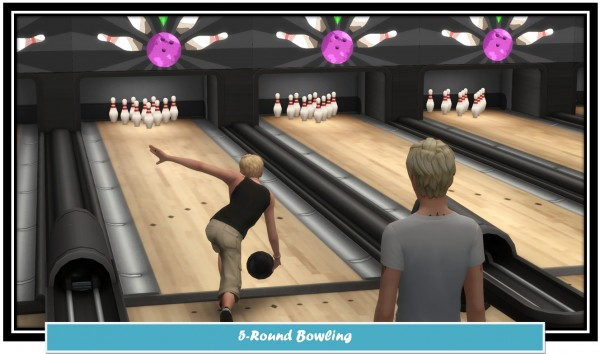 Mod The Sims: 5 Round Bowling by LittleMsSam