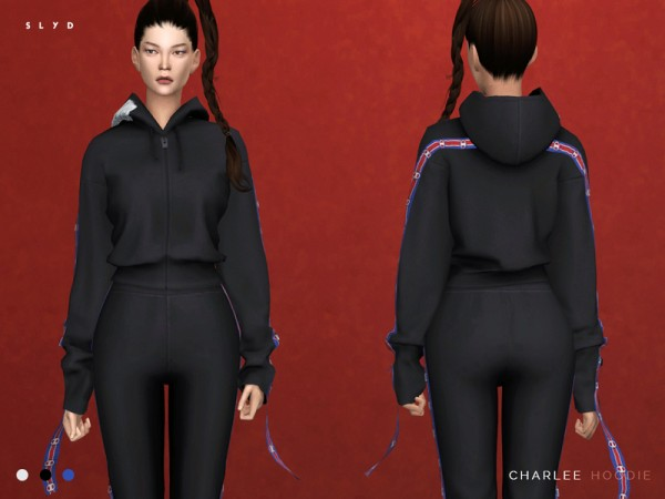 The Sims Resource Charlee Hoodie And Sweatpants By Slyd