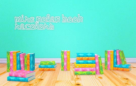 LinaCherie: Mira nolen book recolors