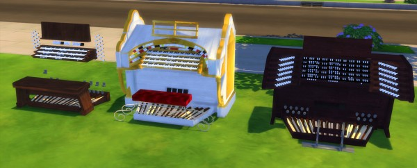 Mod The Sims: Modular Pipe Organ 3 by Alexander.Chubaty