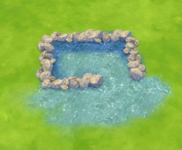 Mod The Sims Water Unbound I Pool Water Terrain Paints