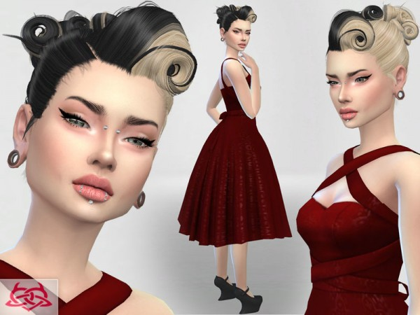 The Sims Resource: Psychobilly Set 4 by Colores Urbanos