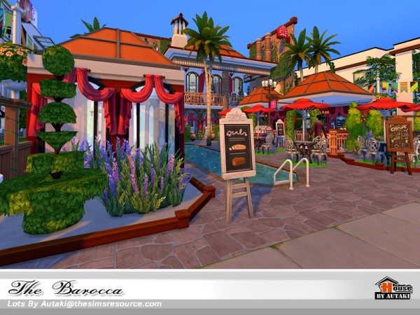The Sims Resource: The Barocca NoCC by Autaki