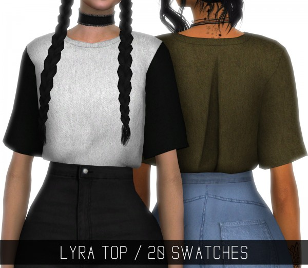 Sims 4 Cc S The Best Windows By Tingelingelater: Simpliciaty: Lyra Top • Sims 4 Downloads