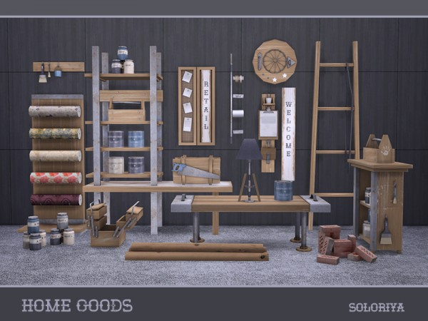 The Sims Resource: Home Goods by soloriya