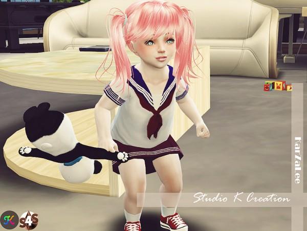 Studio K Creation: Sailor uniform for toddlers
