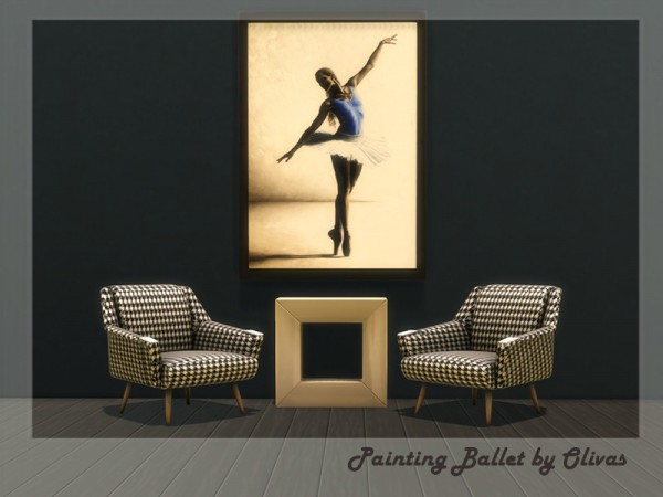 The Sims Resource: Painting Ballet by olivas