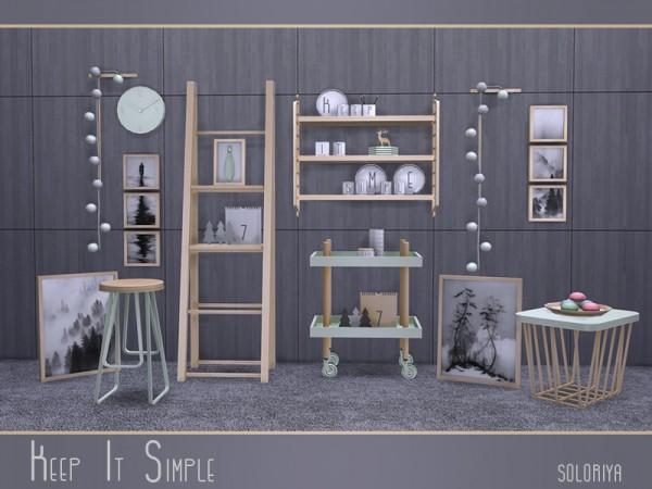 The Sims Resource: Keep It Simple livingroom by Soloriya