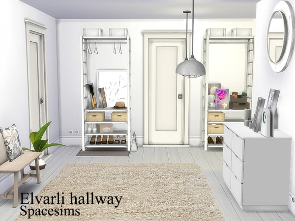 The Sims Resource: Elvarli hallway by spacesims