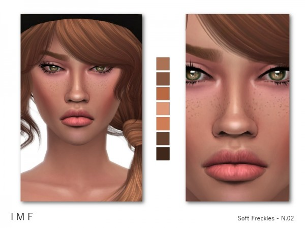 The Sims Resource: Soft Freckles N 02 by IzzieMcFire