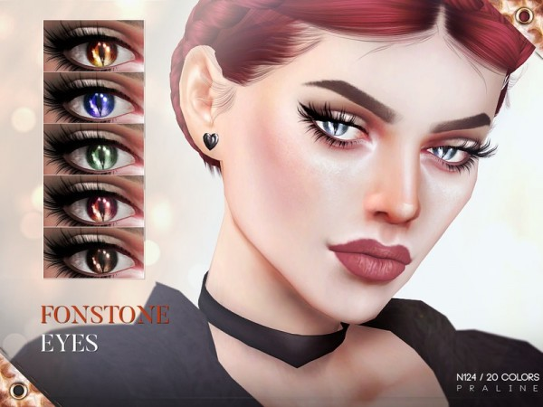 The Sims Resource: Fonstone Eyes N12 by Pralinesims