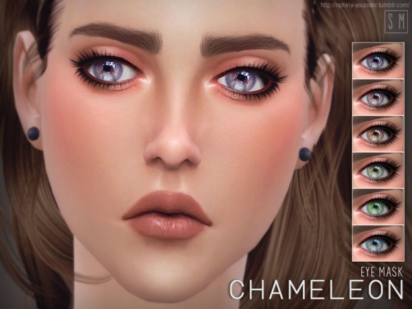 The Sims Resource: Chameleon    Eye Mask by Screaming Mustard