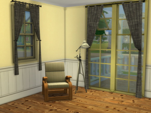 Chillis Sims: Loft Curtain
