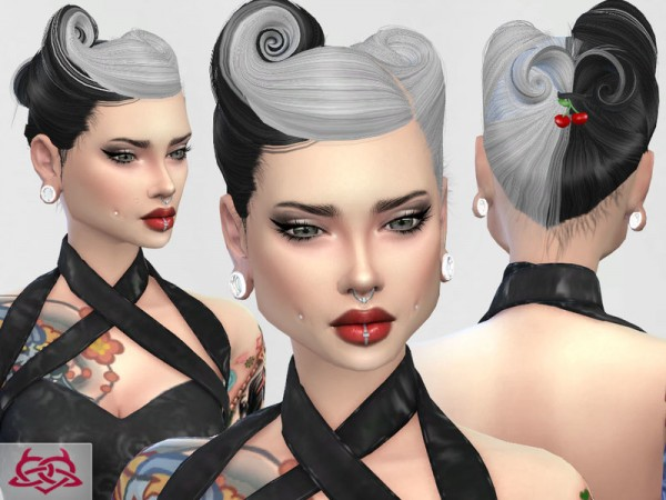 The Sims Resource: Psychobilly Set 3 by Colores Urbanos
