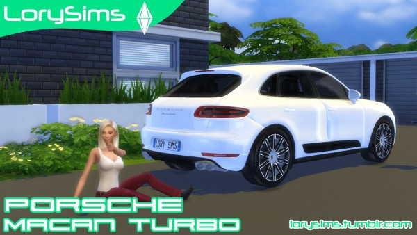 lory sims porsche macan turbo sims 4 downloads. Black Bedroom Furniture Sets. Home Design Ideas