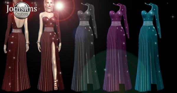Jom Sims Creations: Blumilla evening dress