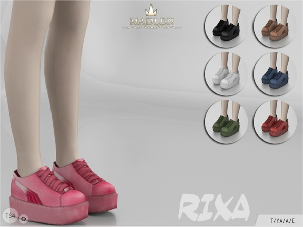 The Sims Resource: Madlen Rixa Shoes by MJ95