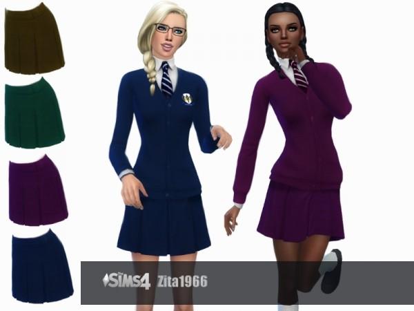 The Sims Resource: Teen School Uniform by ZitaRossouw