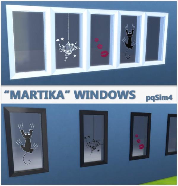 PQSims4: Martika Windows