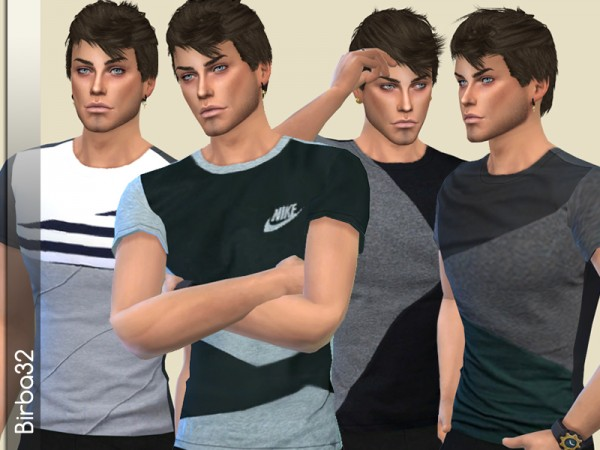 The Sims Resource: Tommy T Shirts by Birba32