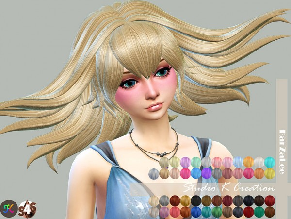 Studio K Creation: Animate hairstyle 77   Ragyo normal