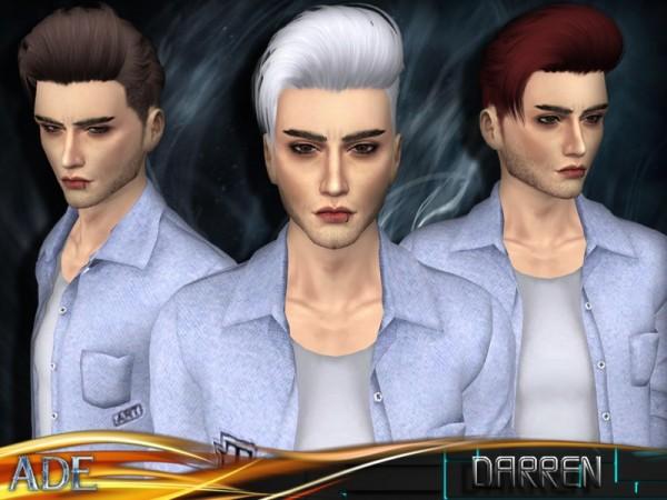 Причёска с шишками симс 4