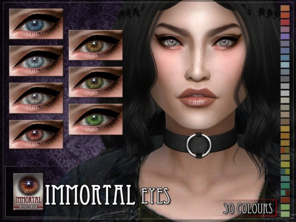 The Sims Resource: Immortal Eyes by RemusSirion