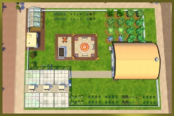 Blackys Sims 4 Zoo: Perfekt garden paradise by Kosmopolit
