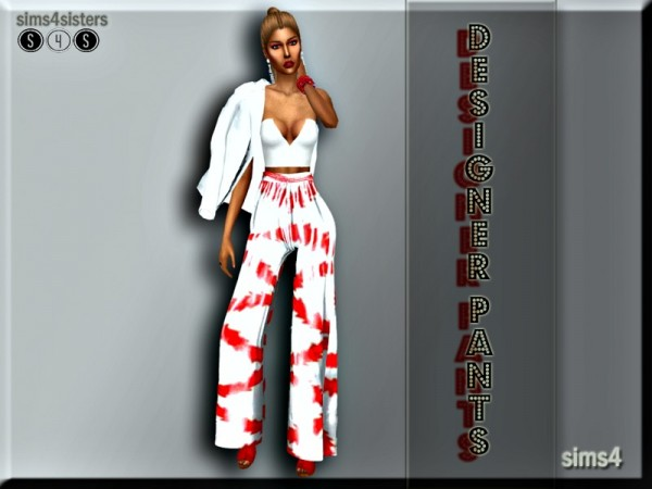 The Sims Resource: Designer Pants by sims4sisters