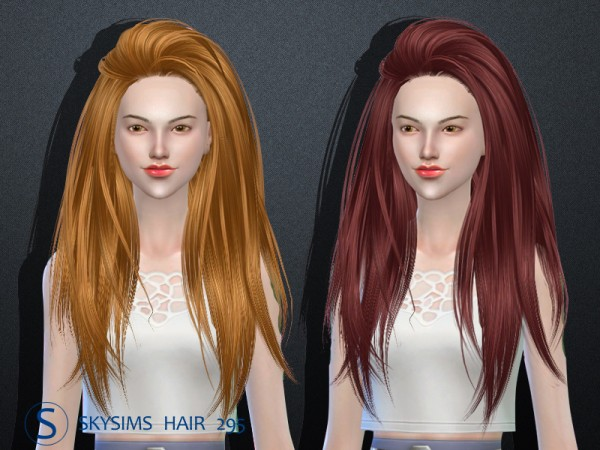 Butterflysims: Donation Hairstyle 295 by Skysims
