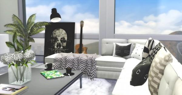 Mony Sims: Nordic Style livingroom