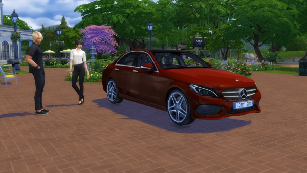 Lory Sims Mercedes Benz C Class Sims 4 Downloads