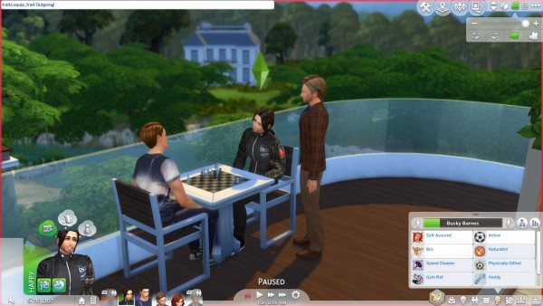 Mod The Sims: More CAS Traits for Sims Mod updated for toddlers by chingyu1023