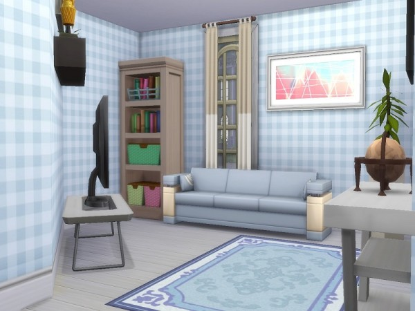 The Sims Resource: Cozy Curb  house by Fatouma