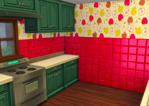 Chillis Sims: Apple Tiles