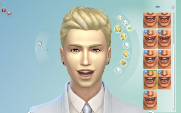 Mod The Sims: Imperfect Teeth by emile20
